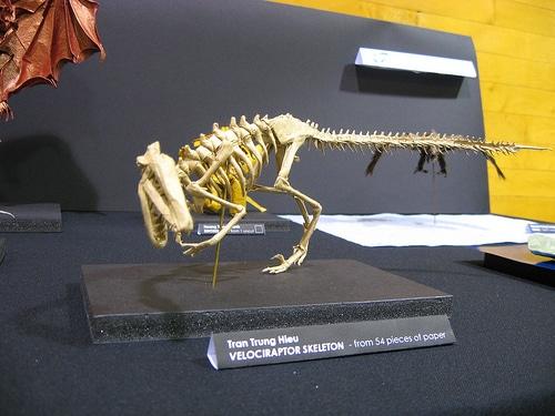 Origami Dinosaur By Tran Trung Hieu