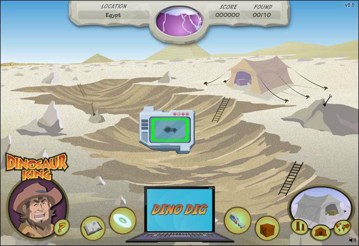 Free Dinosaur Games: Dinosaur King