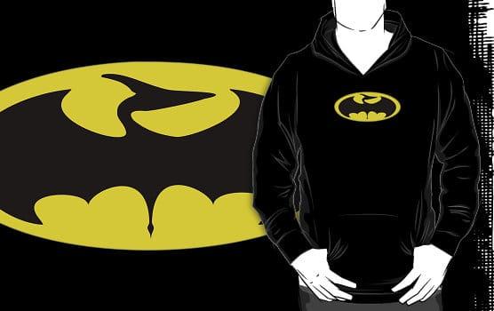 Batman Pterodactyl Badge Dinosaur Hoodie