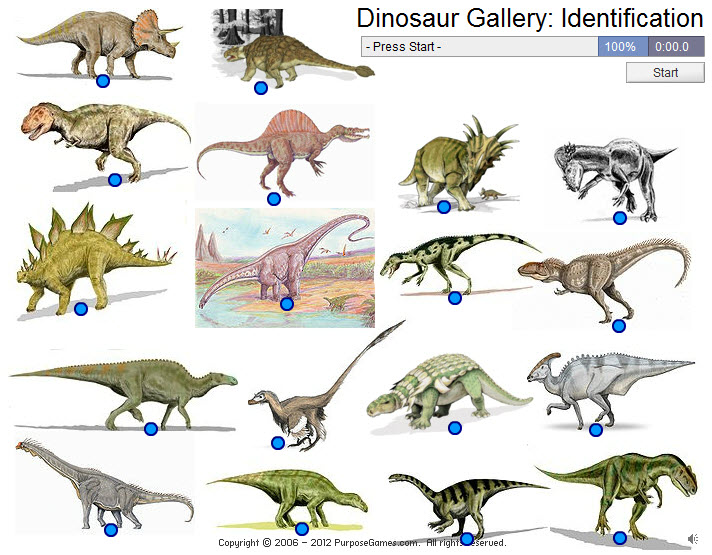 Free Dinosaur Games: Dinosaur Identification