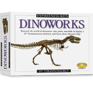 Tyrannosaurus Rex Skeleton Casting Kit