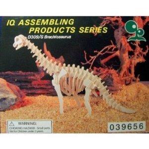 Brachiosaurus wooden dinosaur puzzle