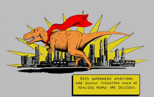 Superhero Rex