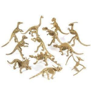 Wooden dinosaur skeleton kit