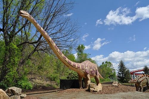 Lighter dinosaurs