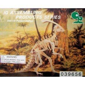 Parasaurolophus wooden dinosaur puzzle