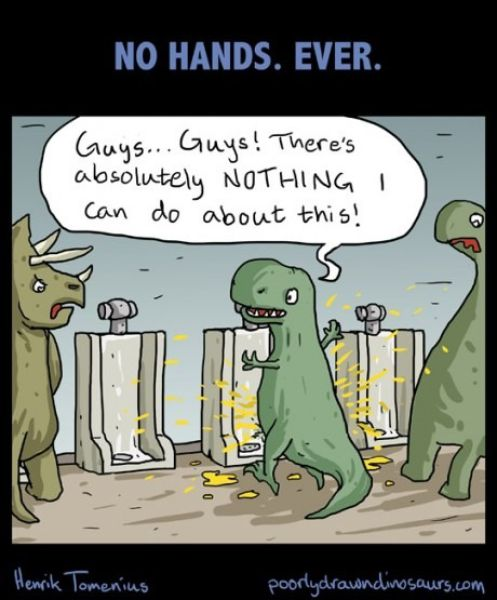 Poorly Drawn Dinosaurs