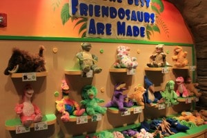 Build A Dino at your local Build A Bear