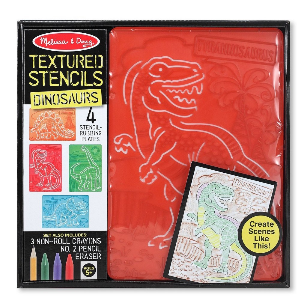 Dinosaur Crafts: Melissa and Doug Dinosaur Stencils