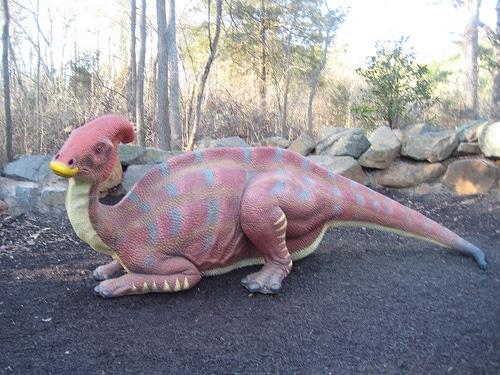 Dinosaur Trail Parasaurolophus
