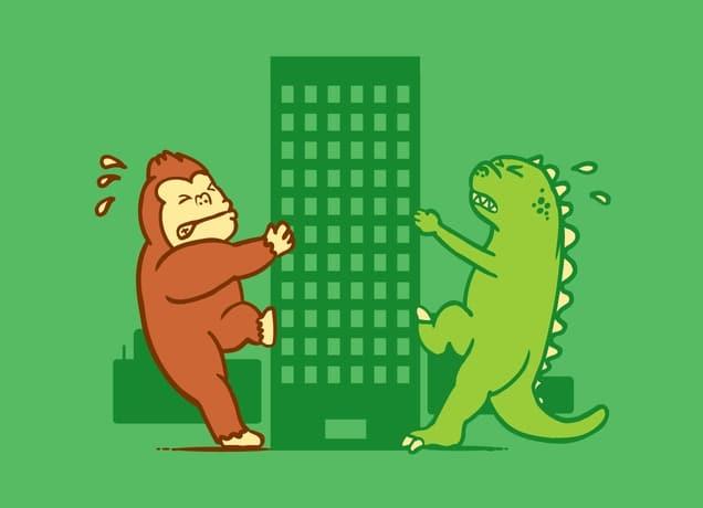 Dinosaur T-Shirt:  This Is Mine  by Leardwiwut Ausub