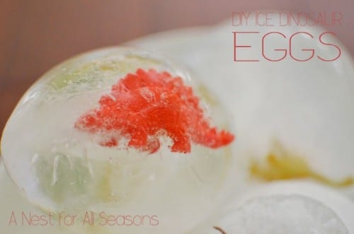 Ice Dinosaur Eggs