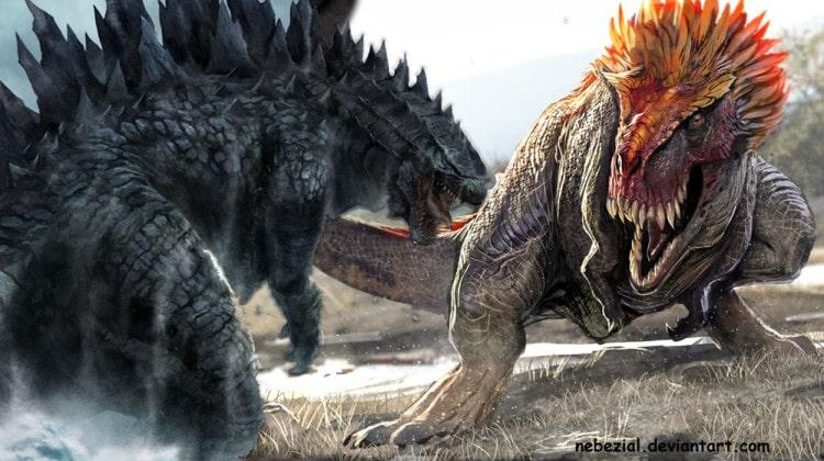 T-Rex vs Godzilla