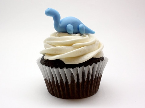 The Art of Dessert Dinosaur Cupcake