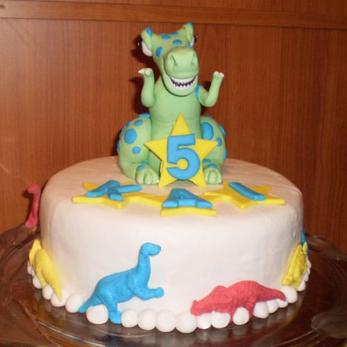 How To Make A Dinosaur Cupcake Cake