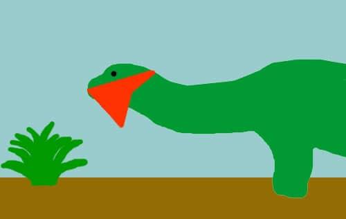 Vigilante dinosaur