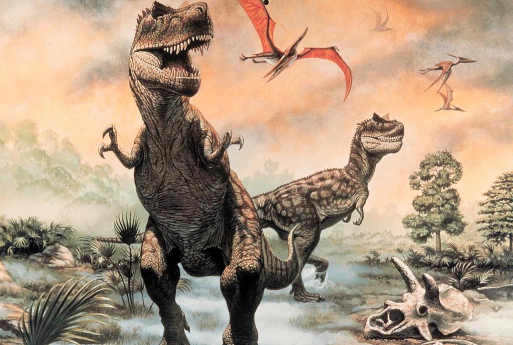 Dinosaur Desktop Sci-Fi